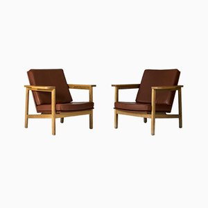 Lounge Chairs by Carl-Axel Acking, Set of 2