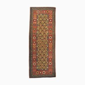 Kaukasischer Talish Teppich mit Blumenmuster in Gelb & Rot, 19. Jh., 1890er