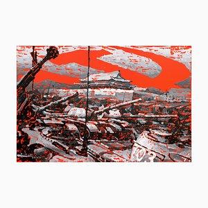 Zhao De-Wei, Potere politico, 2014, Olio su tela
