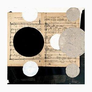 Lukasz Fruczek, Industrial 5, 2020, olio, acrilico e collage