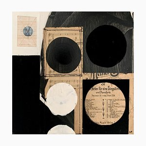 Lukasz Fruczek, Industriel 3, 2020, Huile, Acrylique & Collage