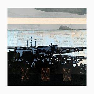 Lukasz Fruczek, Gdynia 2, 2016, Huile, Acrylique & Collage