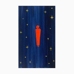 Waleria Matelska, Journey, 2021, acrilico su carta