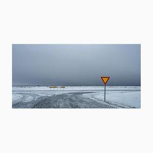 Gilles Morteille, Island 129, Digitaldruck, gerahmt