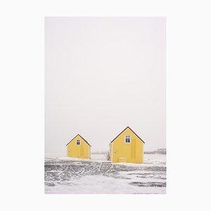 Gilles Morteille, Island 131, Digitaldruck, gerahmt