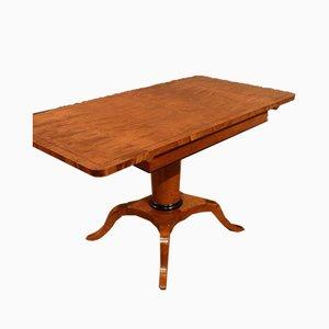 Biedermeier Birch Table, 1920s