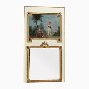 Grand Miroir 19ème Siècle