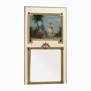 Large 19th Century Mirror