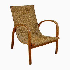 Armchair in Rope and Beech, 1950s