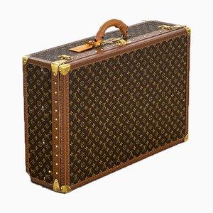 Maleta Bisten 75 de lona con monograma de Louis Vuitton, años 80