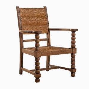 Neobasischer Stuhl aus Eiche, 1950er