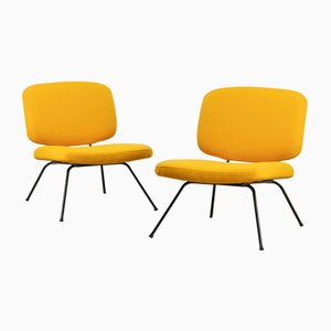 CM190 Chairs by Pierre Paulin for Thonet, 1956, Set of 2