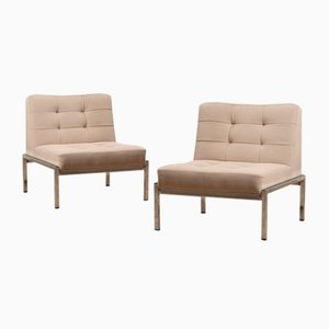 Samurai Chairs by Joseph-André Motte for Airborne, 1960s, Set of 2