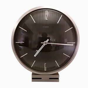 Reloj de mesa vintage, años 60