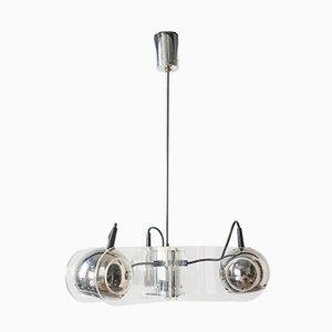 Lámpara colgante Eyeball de plexiglás de Insta Sensorette, años 70