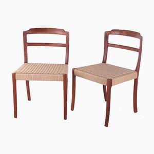 Chaises de Salon par Ole Wanscher, Danemark, 1960, Set de 2