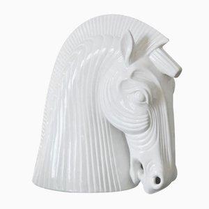 Vivai del Sud, Pferdekopf, 1980er, Keramik