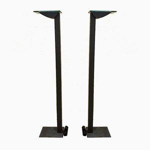 Lámpara de pie halógena de Ettore Sottsass para Zumtobel, años 80