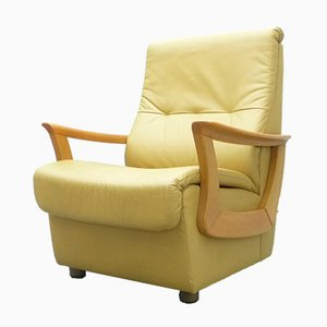 Mid-Century Leather Armchair, 1970s