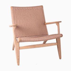 Model Ch25 Lounge Chair by Hans Wegner by Carl Hansen, 1960