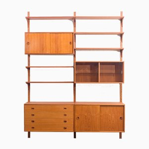 Large Danish Shelf System in Teak from Hg Furniture