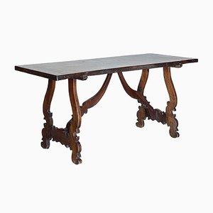 Mesa de comedor Fratino de nogal, siglo XIX