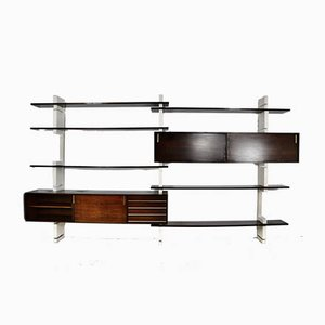 Lacquered Bookcase from Amma, Italy, 1960s