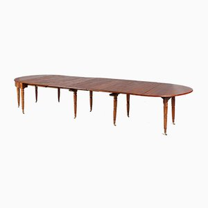 Large Extendable Dining Table for 16 People