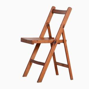 Mid-Century Czech Beech Chair, 1950s