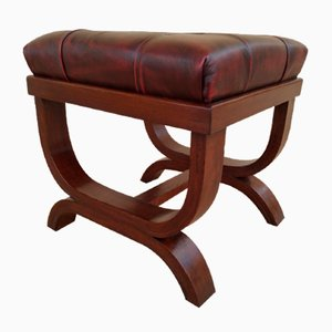 Padded Seat Pouf or Stool