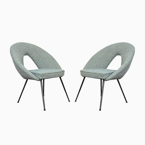 Shell Chairs, 1960s, Set of 2
