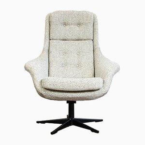 Butaca giratoria F 015 de Lubus Facebook Furniture, años 70