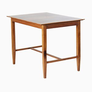 Mesa de centro de madera maciza, años 40