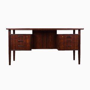 Freestanding Rosewood Desk by Arne Vodder, 1960s