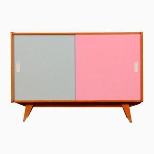 Model U-452 Pink and White Dresser by Jiri Jiroutek for Interior Praha, 1960s
