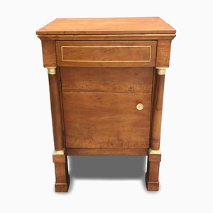 Ancient Bedside Table in Walnut Empire