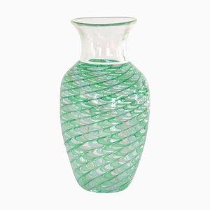 Vase Phénicien en Verre de Murano par Archimede Seguso
