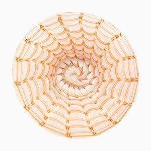 Centre de Table Style Phénicien en Verre de Murano par Archimede Seguso