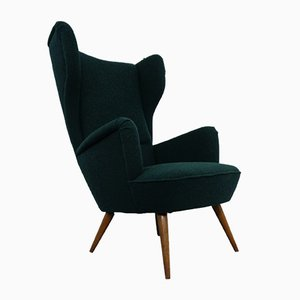 French Kvadrat Tonica Wingback Chair, 1950s