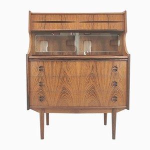 Rosewood Bureau Bookcase, Denmark, 1950