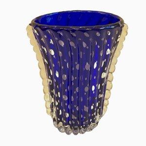 Jarrón de cristal de Murano, años 50
