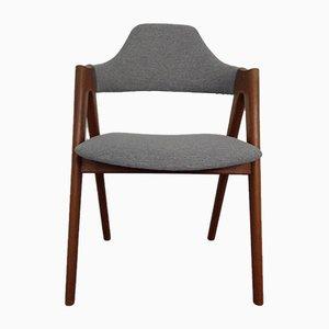 Sedia in teak di Kai Kristiansen per Sva Mobler, anni '60