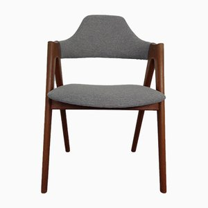 Teak Compass Chair by Kai Kristiansen for Sva Mobler, 1960s