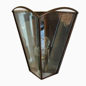 Lampada da parete in vetro specchiato di Frantsen Ef Design