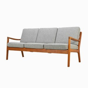 3-Seat Senator Sofa by Ole Wanscher for France & Son, 1960s
