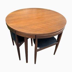 Tisch & Esszimmerstühle von Frem Røjle, 5er Set