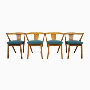 Mid-Century Put U Up Esszimmerstühle im skandinavischen Stil von Greaves & Thomas, 1960er, 4er Set