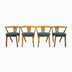 Sedie da pranzo Put Up Mid-Century di Greaves & Thomas, Scandinavia, anni '60, set di 4
