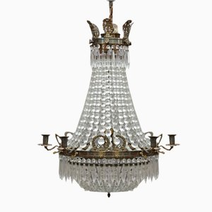 Large Empire Chandelier, 1890s