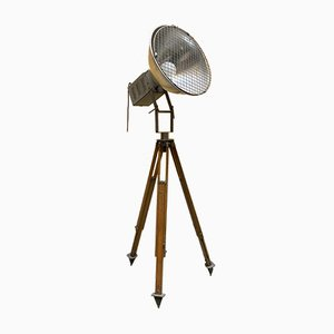 Lamp with Tripod Base